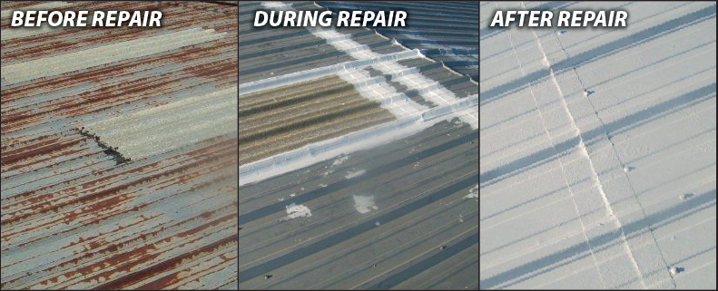 Roof Coating Elastomeric Flat Roof Metal Roof Repair Roof Leak